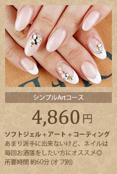 定額シンプルコース4,725円